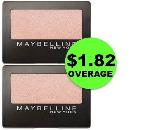 TWO (2!) FREE + $1.82 OVERAGE on Maybelline Eye Shadows at CVS! ~ This Week Only!