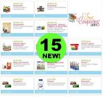 Pick & Click These Fifteen (15!) *NEW* Coupons for Land O Lakes, Nature's Way, Stonyfield & More!