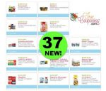 Save OVER $100 with These *NEW* Thirty-Seven (37!) Coupons! ~ Print NOW!