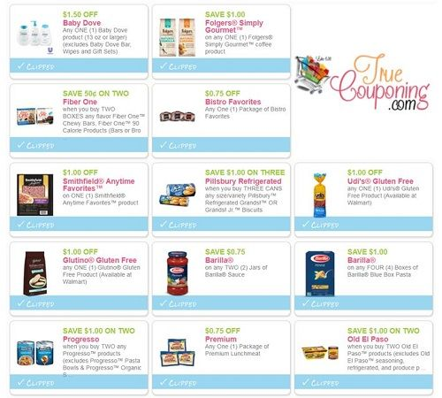 PRINT the Thirty-Eight (38!) **NEW** Coupons That Came Out This Weekend!