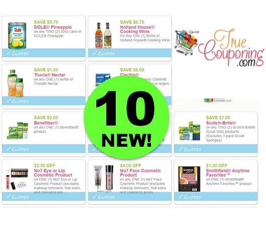 PRINT These TEN (10!) *NEW* Coupons for Truvia, Dole, Smithfield, No7 Cosmetics & More!