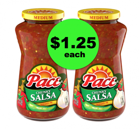 Ole! Pick Up Jars of Pace Salsa at Publix for Only $1.25 Each ~ This Week Only!