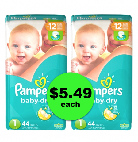 Oh, BABY!! Pampers Jumbo Pack Diapers are $5.49 Each at Publix ~ Starts Weds/Thurs!