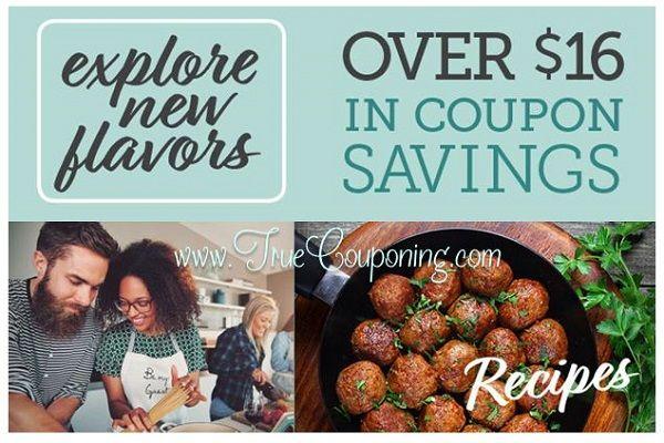 """Publix """"Explore New Flavors"""" Coupon Booklet & Printables {Valid 9/30 – 11/19/17}"""