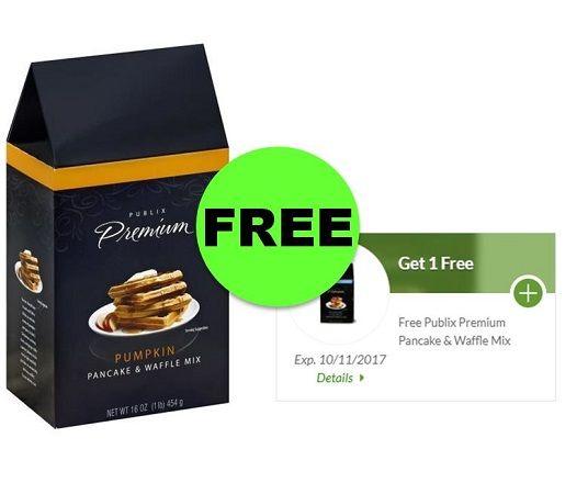 Good Morning! Get FREE Publix Premium Pancake & Waffle Mix ~ NOW! {Reg. Price $4.45!}