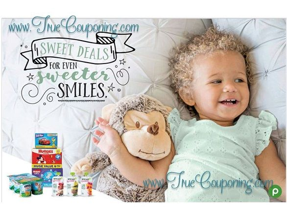 """Publix """"Sweet Deals for Even Sweeter Smiles"""" Baby Coupon Booklet & Printable {Valid 9/27 – 10/25/17}"""