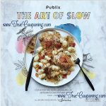 Publix The Art of Slow Coupon Booklet & Printables! (Valid through 10/18/17)