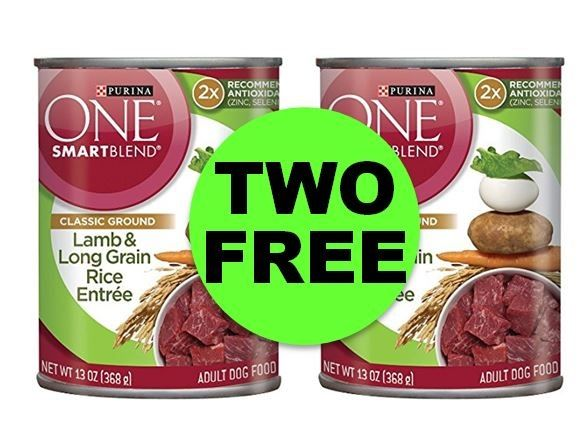TWO (2!) FREE Purina One SmartBlend Wet Dog Food at Publix! ~ ENDS Tonight!