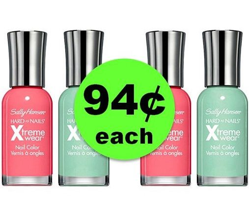 Pick Your Fall Colors with 94¢ Sally Hansen Nail Colors at CVS! ~ Going On Now!