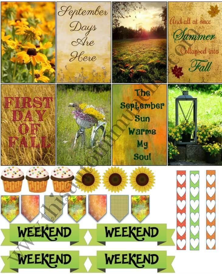 FREE September Planner Printable!