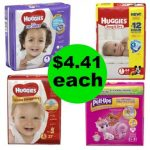 Don't Miss The Huggies Diapers or Pullups You Get This Week at Walgreens For Only $4.41 Each!