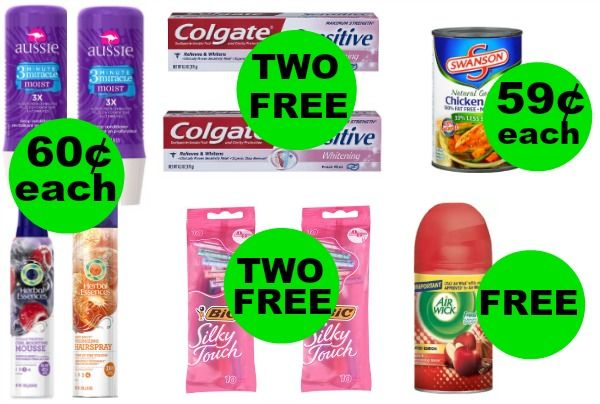 Don't Miss Your THREE (3!) FREEbies & SIX (6!) Deals JUST 69¢ Each or Less This Week at Walgreens!