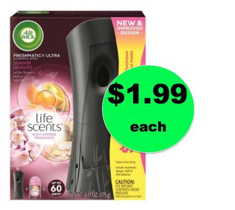 Cheap Air Freshener! Pick Up $1.99 Air Wick Freshmatic Ultra Starter Kit {Reg. $8.50!} at Target! ~Right Now!