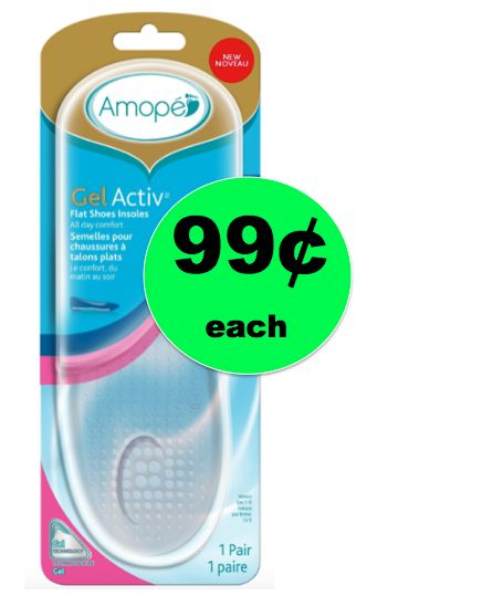 Your Feet are Saying YES to 99¢ Amope GelActiv Insoles {Reg. $8} at Target ~NOW!