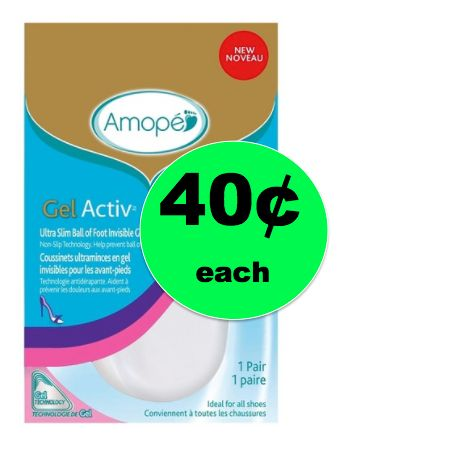 Make Your Feet Happy with 49¢ Amope GelActiv Ball of Foot Cushion at Target! ~NOW!