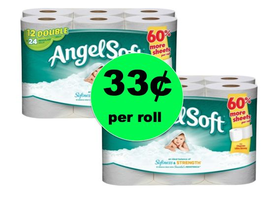 Pick Up Angel Soft Bath Tissue Only 33¢ per Roll at Winn Dixie! (Ends 1/23)