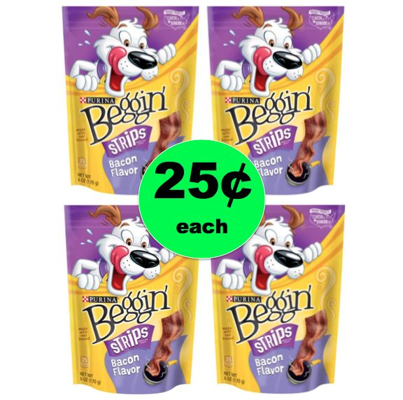 It's a Tail Waggin' Deal! Get Beggin' Strips ONLY 25¢ Each at Winn Dixie! ~Right Now!
