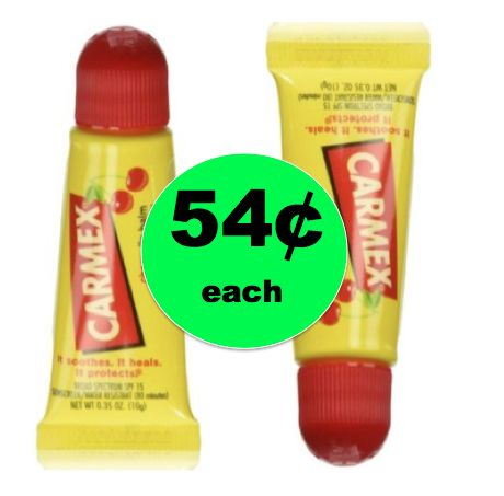 Get Ready for the Cooler Weather with 54¢ Carmex Lip Balm at Target! ~This Week!