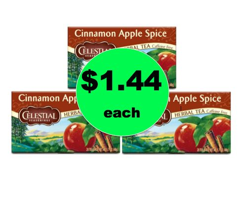 Stock Up on Celestial Seasonings Tea ONLY $1.44 Each at Target! ~NOW!