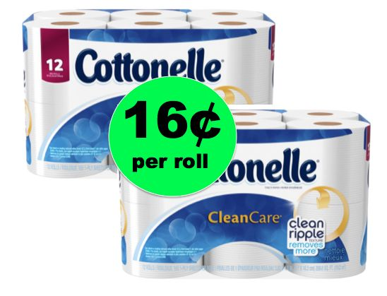 Cheap TP! Print NOW for Cottonelle Bath Tissue Only 16¢ Per Roll at Walgreens! ~ Right Now!