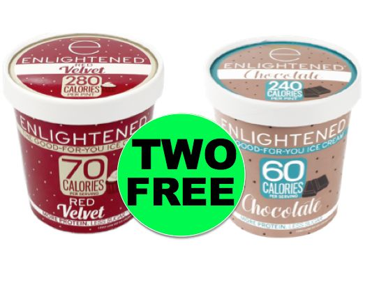 TWO (2!) FREE Pints of Enlightened Ice Cream at Winn Dixie! ~ Starts Weds!