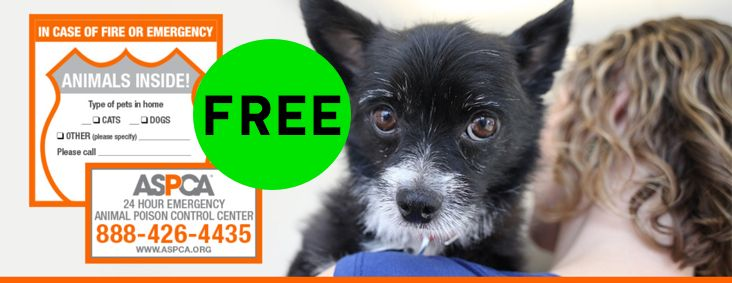 Have You Gotten Your FREE ASPCA Pet Safety Pack?