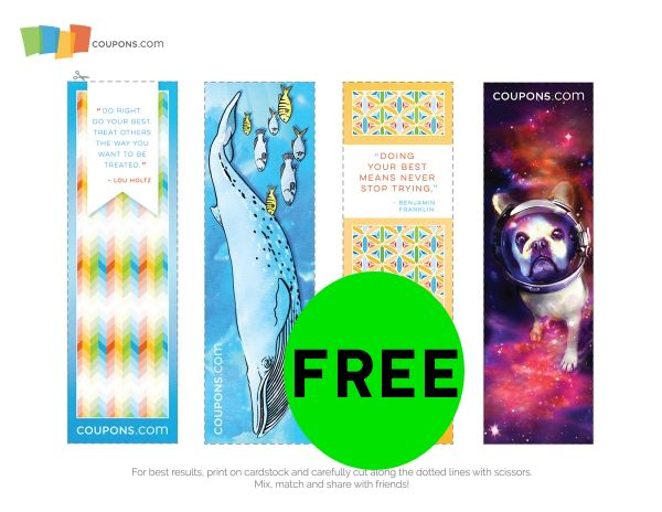 FREE Back to School Book Marks!