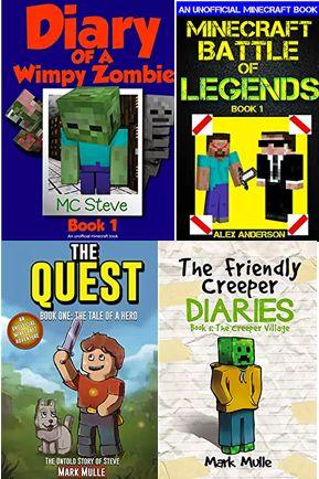 4 FREE Minecraft eBooks!