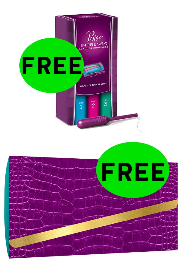 FREE Poise Impressa Supports! {Back Again!}
