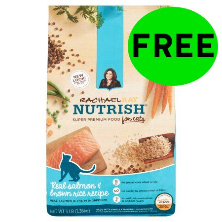 FREE Rachael Ray Nutrish Cat Food!