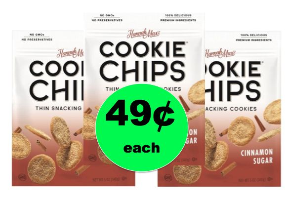 Guilt-Free Snacking! Try 49¢ Hannah Max Thin Snacking Cookie Chips at Target! ~Ends Tomorrow!
