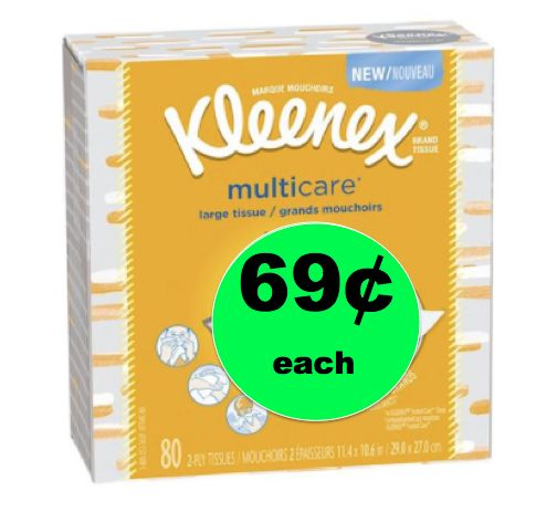 Sneeze Big? Then You Need 69¢ Kleenex MultiCare Tissues at Target! ~Right Now!
