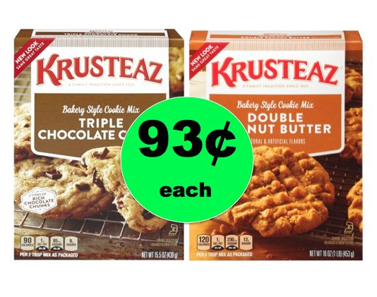 My Favorite Snack! Krusteaz Cookie Mix ONLY 93¢ Each at Walmart! ~Right Now!