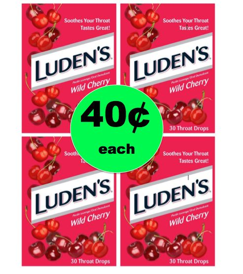 Banish the Cough with 40¢ Luden's Cough Drops at Target ~ Ends Saturday!