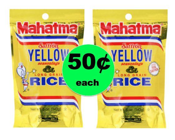 Perfect Side Dish! Mahatma Yellow Rice ONLY 50¢ Each at Winn Dixie! ~ Starts Tomorrow!