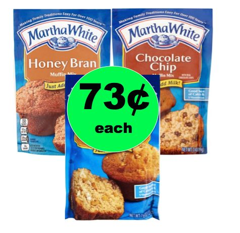 Break Out the Butter! Get Martha White Baking Mixes for ONLY 73¢ Each! ~ Right Now!