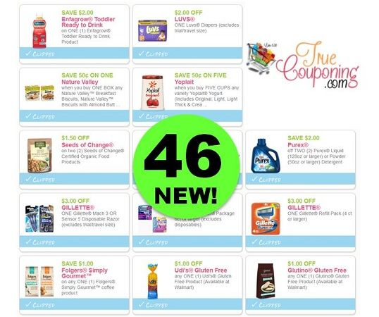Did You SEE the Forty-Six (46!) Coupons That Came Out This Week?! ~ PRINT NOW!