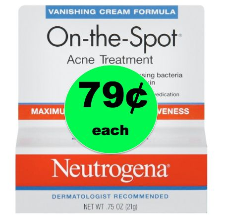 Blemishes Be Gone with 79¢ Neutrogena Acne Treatment at Target! ~Right Now!