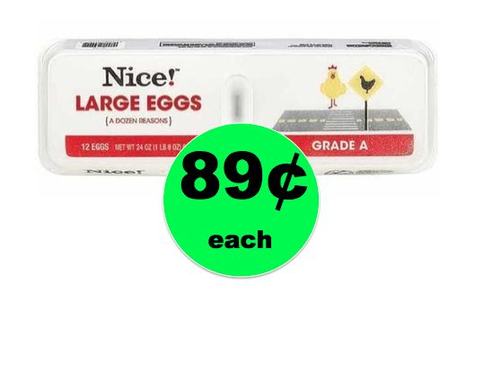 Grade A Large Eggs Only 89¢ a Dozen at Walgreens {No Coupon Needed}! ~ Starts Today!