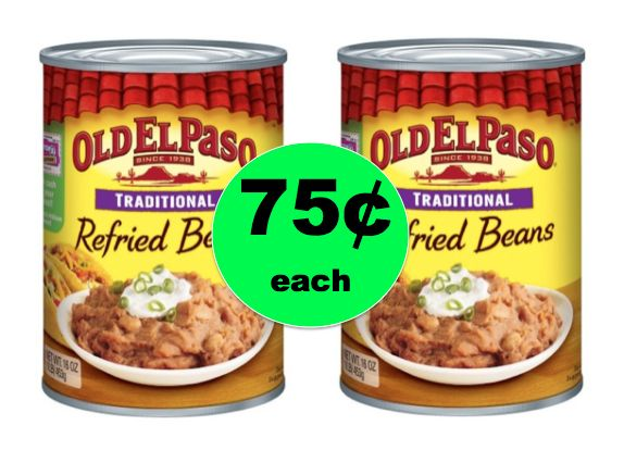 Don't Miss Out on 75¢ Old El Paso Refried Beans at Target! ~Going On Now!