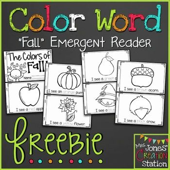 FREE Colors of Fall Coloring Printable!