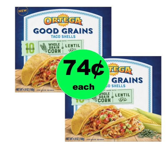 Be Ready forTaco Night with Ortega Good Grains Taco Shells ONLY 74¢ at Target! ~NOW!