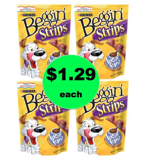 It's a Tail Waggin' Deal! Pick Up $1.29 Purina Beggin Treats at Target! ~Ends Soon!