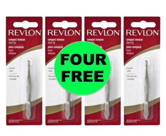 Don't Miss Out on FOUR (4!) FREE Revlon Tweezers at Target (And Walmart Too!) ~Ends Today!