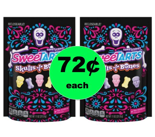 Don't Be Scared to Pick Up TWO (2!) SweeTarts Halloween Candy Bags ONLY 72¢ Each at Target! ~Right Now!
