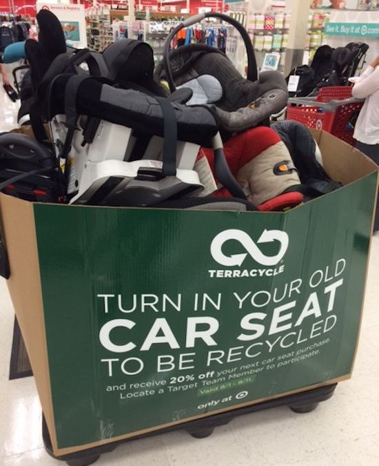 Don't Toss That Old Car Seat! Trade It In at Target NOW and Save 20% on a New One!  (Ends 5/5)