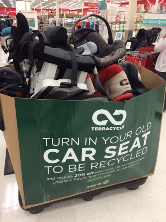 Don't Toss That Old Car Seat! Trade It In at Target NOW and Save 20% on a New One!  (4/22-5/5)
