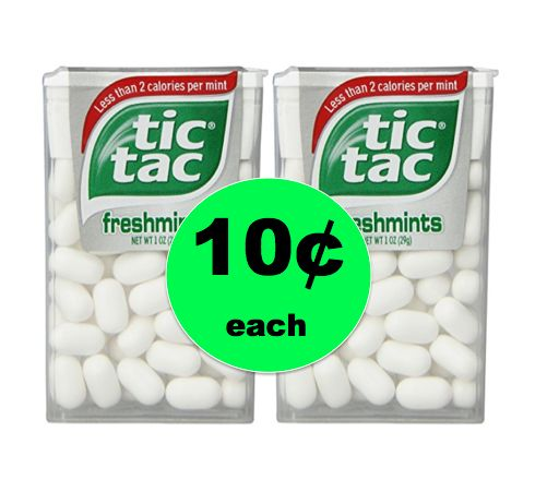 Freshen Your Breath with 10¢ Tic Tac Mints at Target! ~Ends Tomorrow!