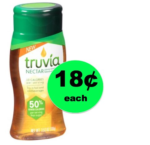 Print Now and Pick Up Truvia Nectar ONLY 18¢ at Walmart! ~ Right Now!