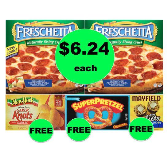 Winn Dixie Meal Deal: Buy TWO (2!) Freschetta Pizzas for $12.48, Get Garlic Knots, Soft Pretzels, & Ice Cream FREE! (9/13 – 9/19)